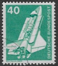 Germany SG1743 1975 Definitive 40pf good/fine used